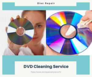 DVD Cleaning Service