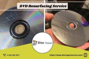 DVD Resurfacing Service